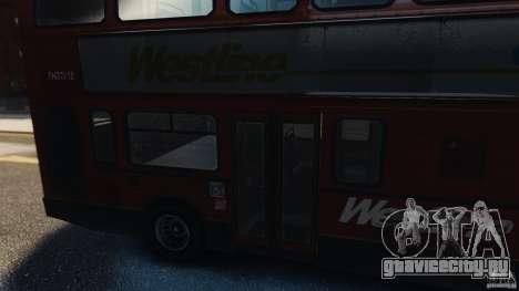 London City Bus для GTA 4 вид справа