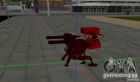 Турель из Team Fortess 2 для GTA San Andreas второй скриншот