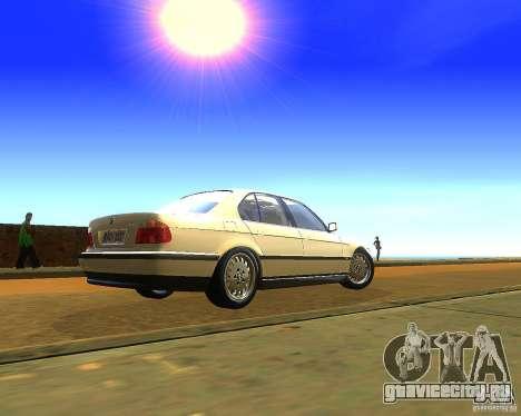BMW 735i для GTA San Andreas вид слева