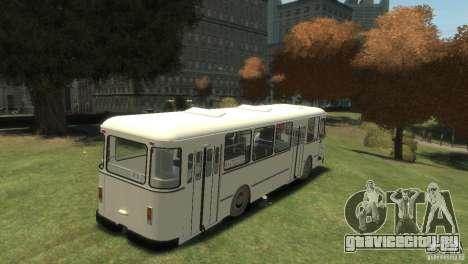 ЛиАЗ 677 для GTA 4 вид справа