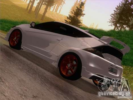 Honda CR-Z Mugen 2011 V2.0 для GTA San Andreas вид слева