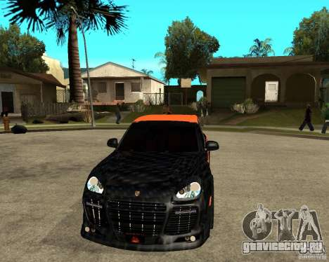 Porsche Cayenne Turbo S Tunned	 для GTA San Andreas вид сзади