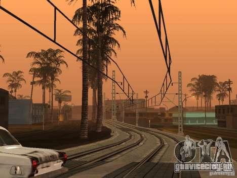 Высокоскоростная ЖД линия для GTA San Andreas второй скриншот