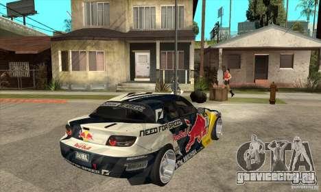 Mazda RX8 NFS Team Mad Mike для GTA San Andreas вид справа