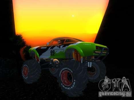Fire Ball для GTA San Andreas вид сзади слева