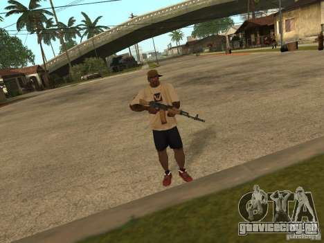 AK-74 из Arma II для GTA San Andreas второй скриншот
