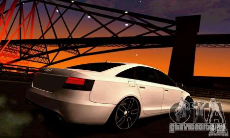 Audi A6 Blackstar для GTA San Andreas вид справа