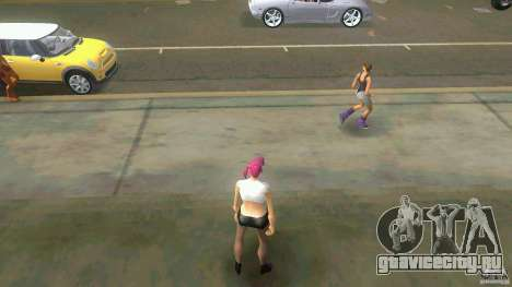 Girl Player mit 11skins для GTA Vice City