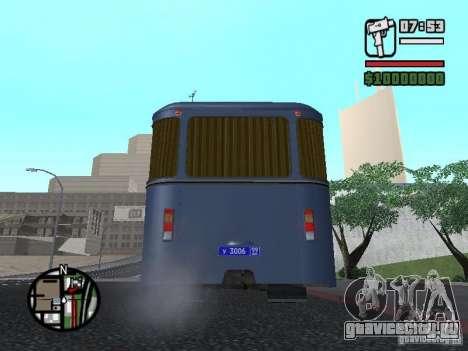 ЛиАЗ 677Ш для GTA San Andreas вид справа