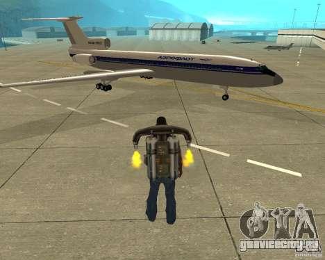 ТУ-154 для GTA San Andreas
