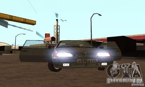 Ваз 2113 Люкс v.1.0 для GTA San Andreas вид сверху