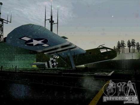 Самолёт из игры В тылу врага 2 для GTA San Andreas вид справа