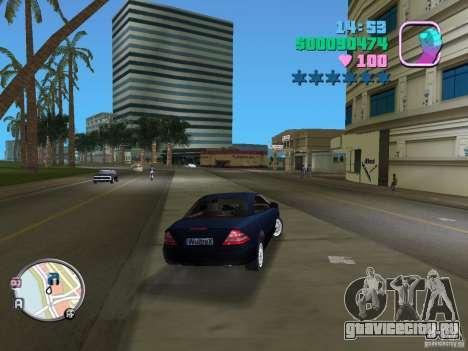 Mercedes-Benz E350 для GTA Vice City вид сзади слева