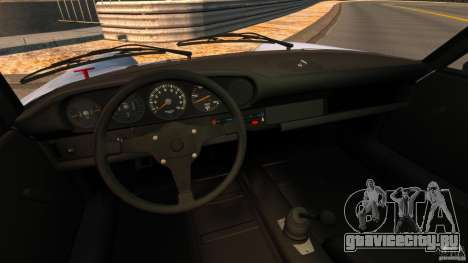 Porsche 911 Carrera RSR 3.0 Coupe 1974 для GTA 4 вид сзади