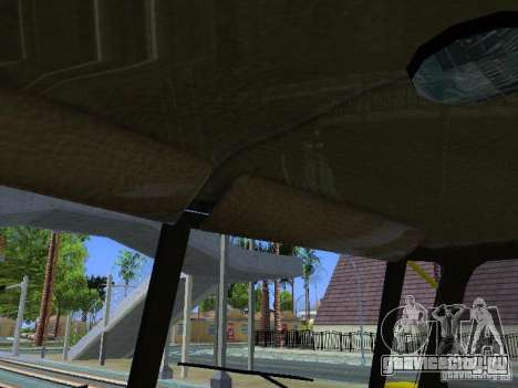 Урал 4320 ГОРСВЕТ для GTA San Andreas вид сверху