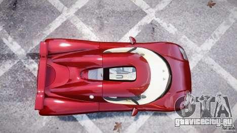 Koenigsegg CCRT для GTA 4 вид сзади слева