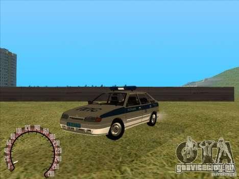 Ваз 2114 Russian Police для GTA San Andreas