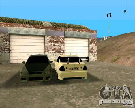 LEXUS IS300 Light tuned для GTA San Andreas вид слева