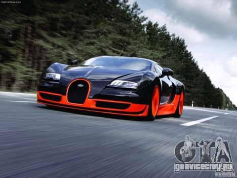 Загрузочные Экраны Bugatti Veyron для GTA San Andreas второй скриншот
