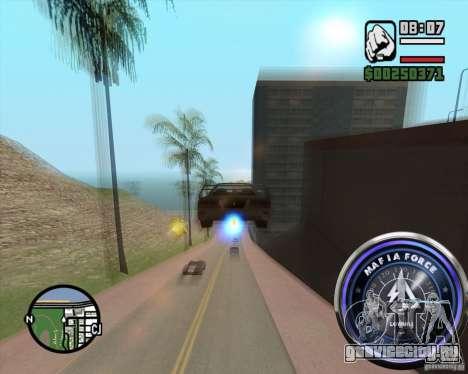 Спидометр-2 для GTA San Andreas второй скриншот
