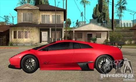 Lamborghini Gallardo LP570-4 SV для GTA San Andreas вид слева