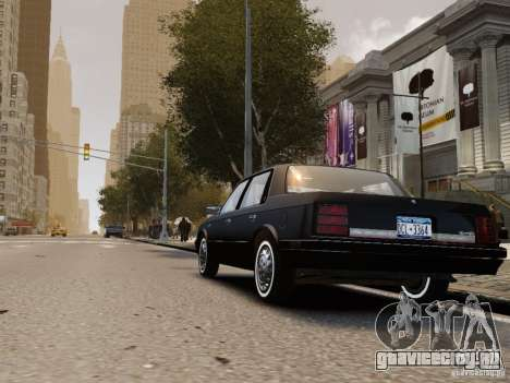 Oldsmobile Cutlass Ciera 1993 для GTA 4 вид справа