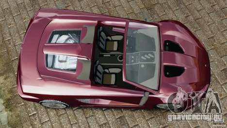 K-1 Attack Roadster v2.0 для GTA 4 вид справа