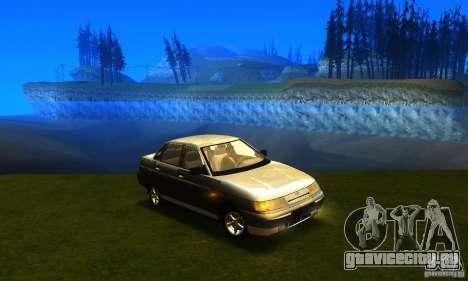 ВАЗ 21103 v2.0 для GTA San Andreas вид сзади слева