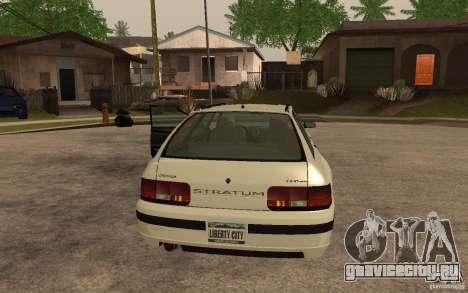 Stratum из GTA IV для GTA San Andreas вид слева