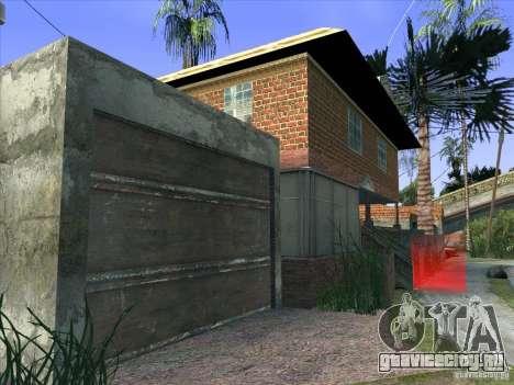 Grove Street Retextured для GTA San Andreas седьмой скриншот