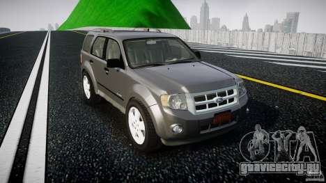 Ford Escape 2011 Hybrid Civilian Version v1.0 для GTA 4 вид изнутри