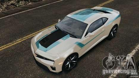 Chevrolet Camaro ZL1 2012 v1.2 для GTA 4 колёса