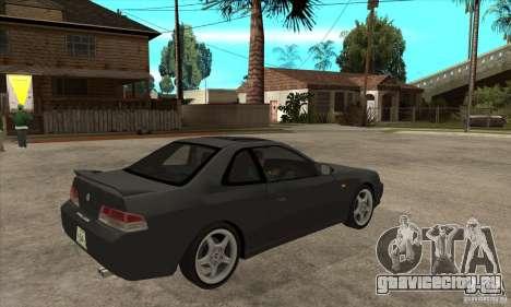 Honda Prelude SiR для GTA San Andreas вид справа