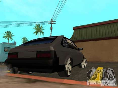 АЗЛК 2141 Супер-Тюнинг для GTA San Andreas вид сзади слева