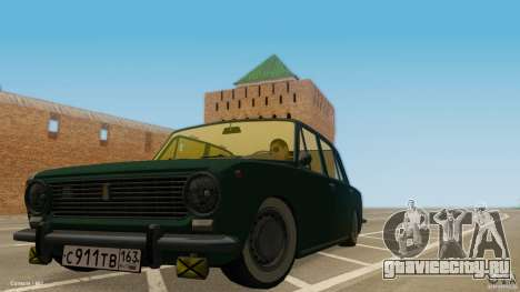 ВАЗ 2101 Low & Classic для GTA San Andreas вид слева