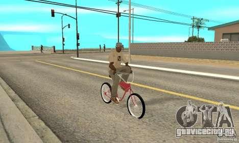 Classic Bike для GTA San Andreas вид справа