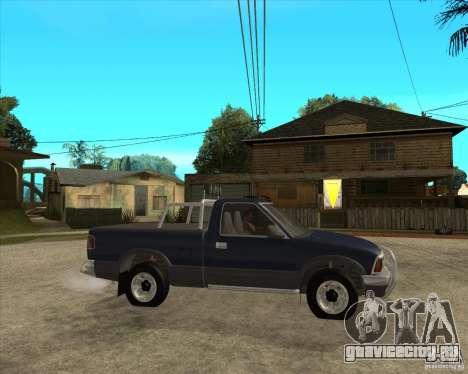 1996 Chevrolet Blazer pickup для GTA San Andreas вид справа