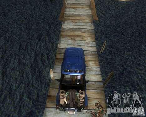 Landrover Discovery 2 Rally Raid для GTA San Andreas вид справа