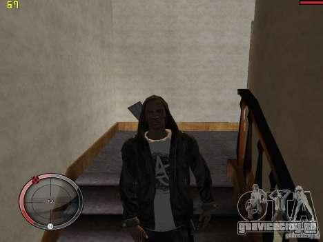 Walk style для GTA San Andreas пятый скриншот