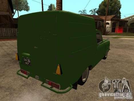 ИЖ 2715 Ранняя версия для GTA San Andreas вид справа