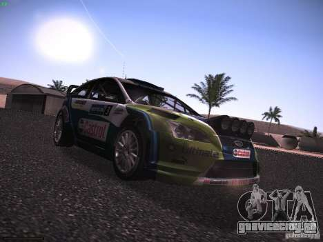 Ford Focus RS WRC 2006 для GTA San Andreas вид справа