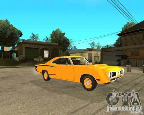 Dodge Coronet Super Bee 70 для GTA San Andreas вид справа