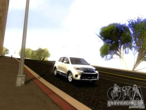 Scion xD для GTA San Andreas вид сбоку