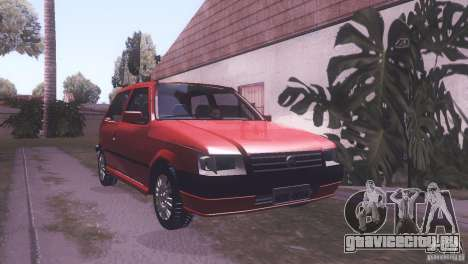 Fiat Uno Mile Fire Original для GTA San Andreas