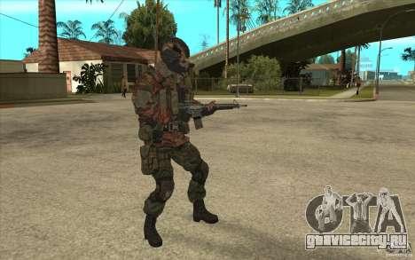 Спецназ Вымпел для GTA San Andreas второй скриншот