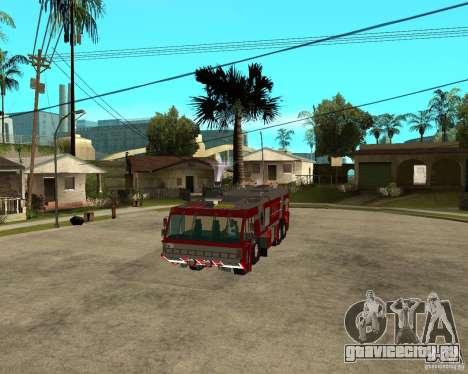 Rosenbauer Simba 8x8 GFLF FDSA для GTA San Andreas