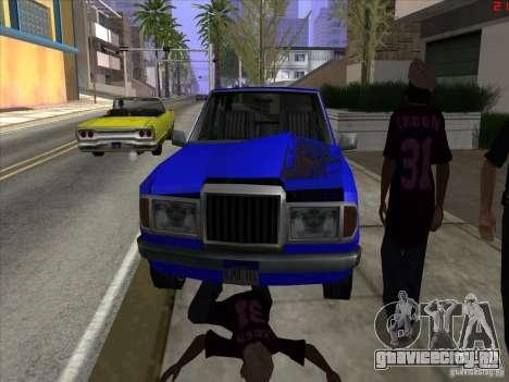 Более яркие цвета для автомобилей для GTA San Andreas пятый скриншот
