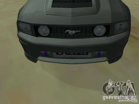 Ford Mustang GTS для GTA San Andreas вид справа