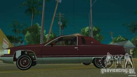 Cadillac Fleetwood 1993 для GTA San Andreas вид слева