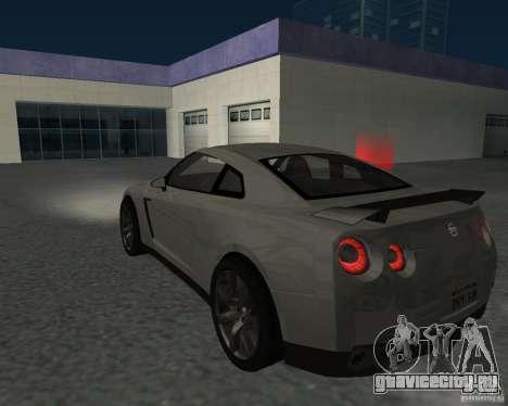 Nissan GT-R Pronto для GTA San Andreas вид слева